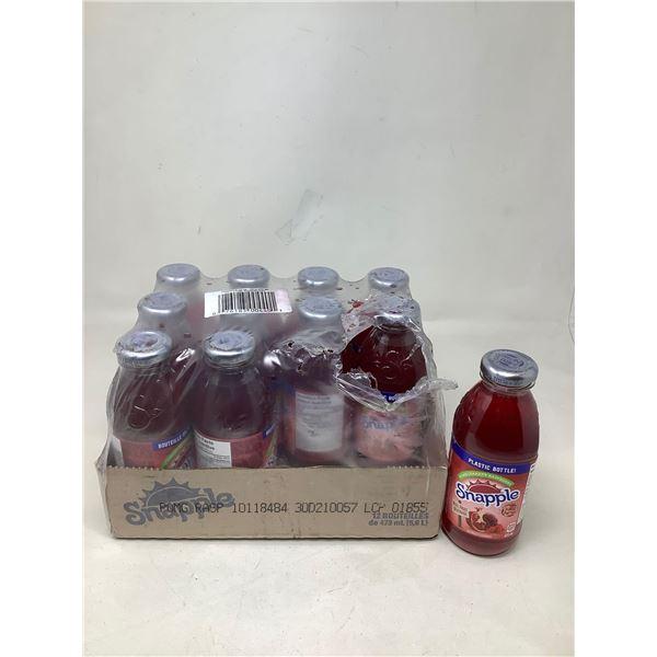 Snapple Pomegranate Raspberry (12 X 473ML)