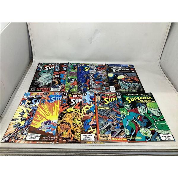 Lot Of Superman Comic Books