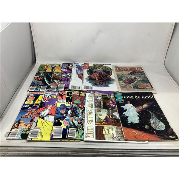 Mixed Lot Of Marvel Comic Books