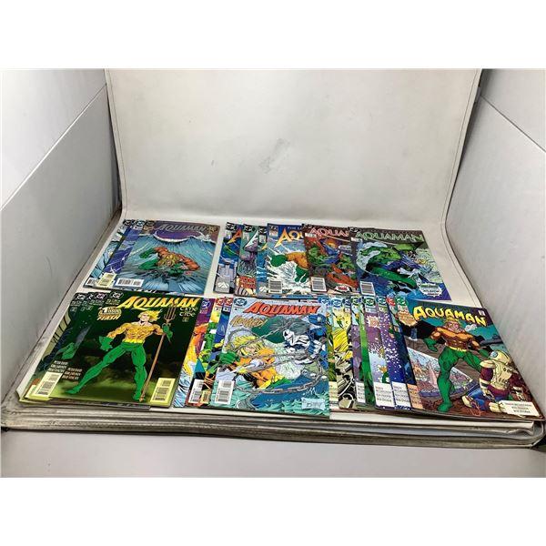 Assorted Lot Of Aquaman Comic Books