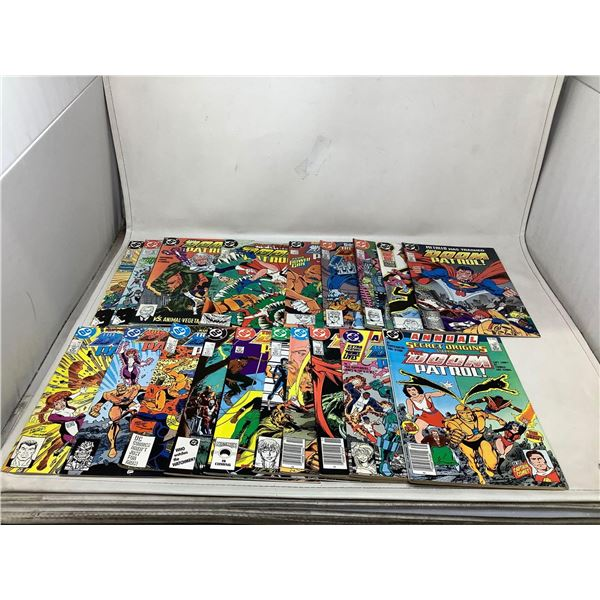 Assorted Lot Of Doom Patrol Comic Books
