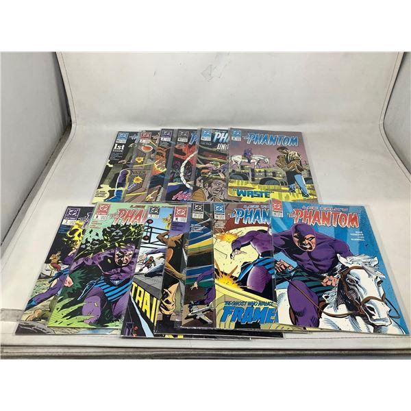 Assorted Lot Of The Phantom Comic Books