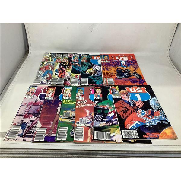 Lot Of US 1 Comic Books