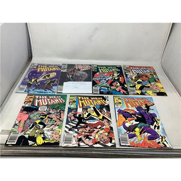 Lot Of The New Mutants Comic Books