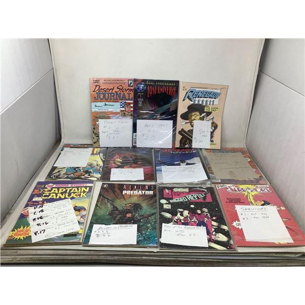 Assorted Lot Of Comic Books