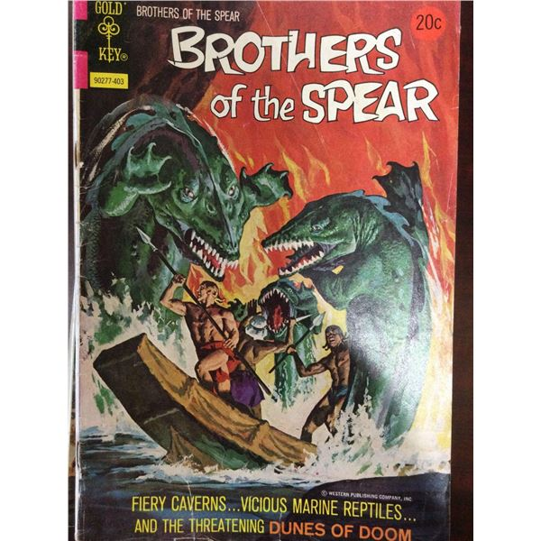 Lot Of Brothers Of The Spear Comic Books