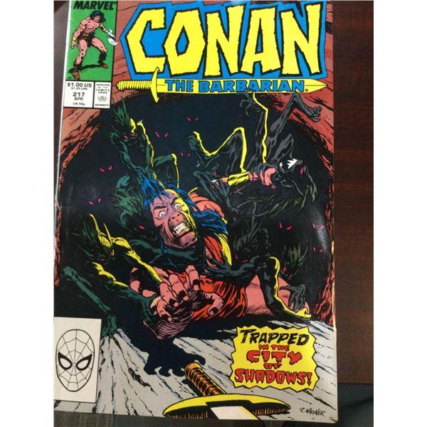Lot Of Conan The Barbarian Comic Books