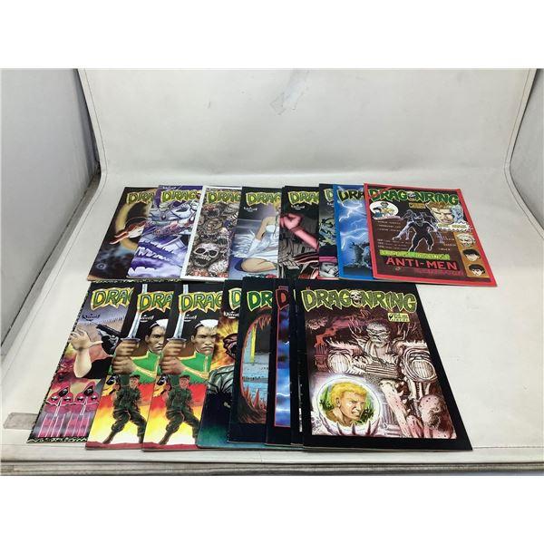 Lot Of Dragonring Comic Books