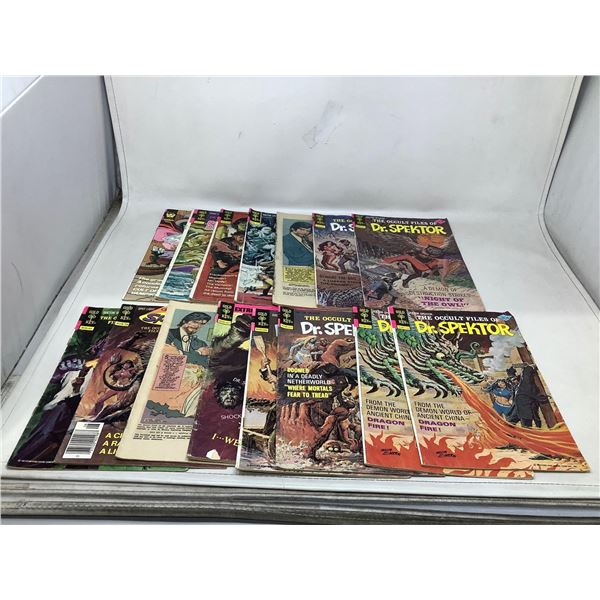 Lot Of Dr.Spektor Comic Books