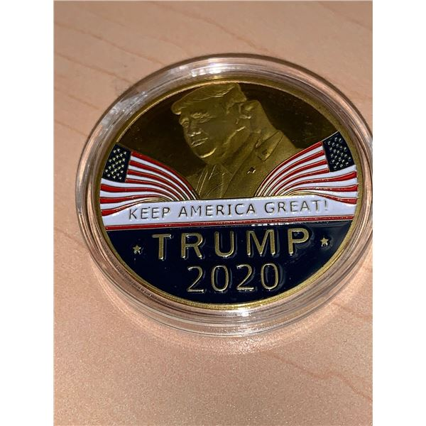Seal of the President of the United States - Trump 2020 Medallion