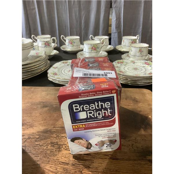 Breath Right 26 Nasal Strips 6-Pack