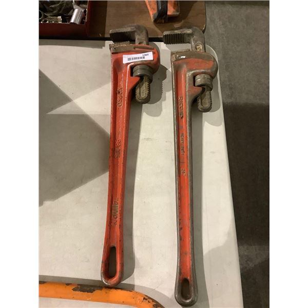 24in Pipe Wrench Lot of 2