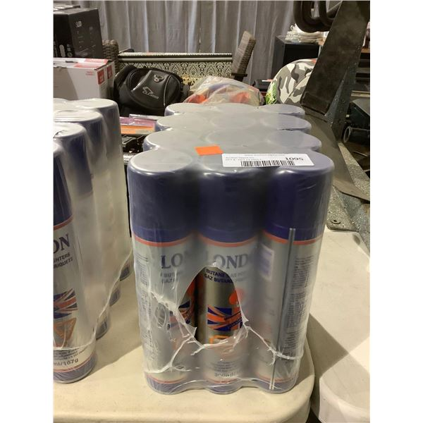 London Butane Gas for Lighters (12 x 300mL)