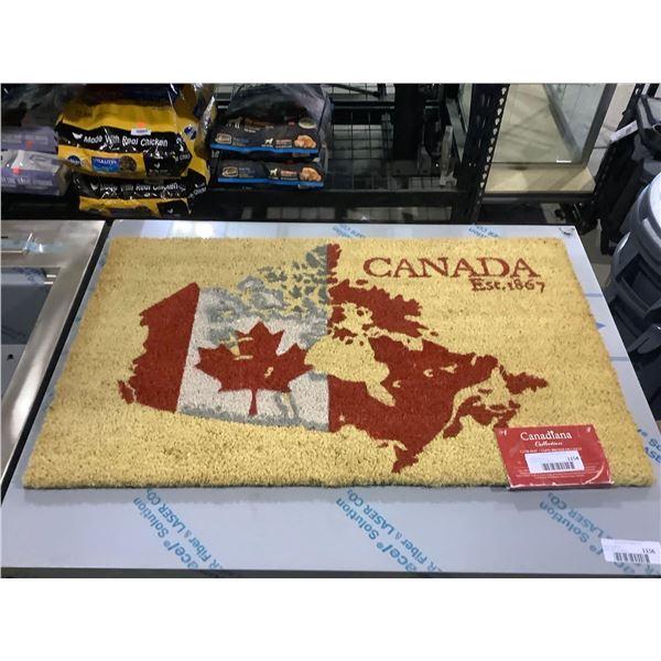 Canadiana Canada Door Mat (18in x 30in)