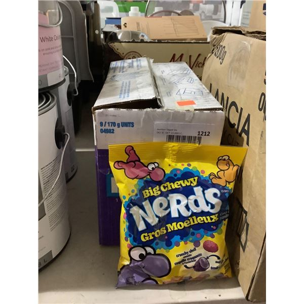 Case of Nerds Big Chewy Candy (9 x 170g)