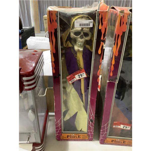 Boogey People 26in Halloween Vibrating Skeleton