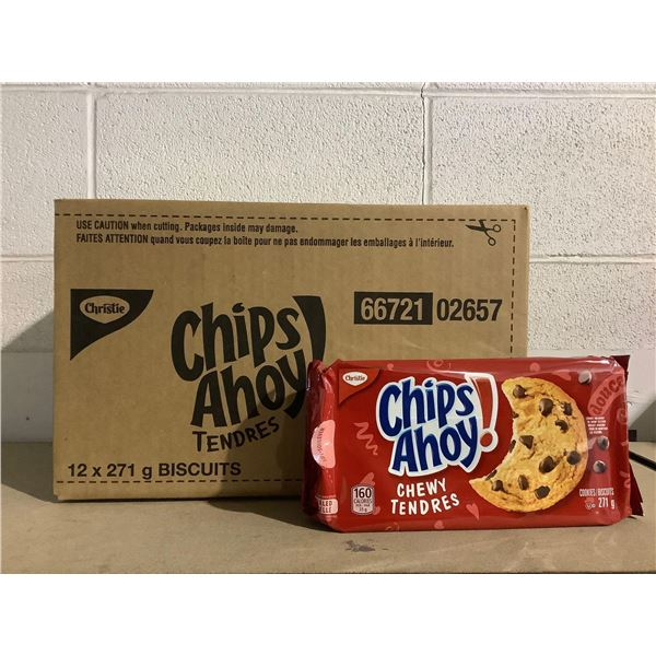 Case of Chips Ahoy! Chewy Chocolate Chip Cookies (12 x 271g)