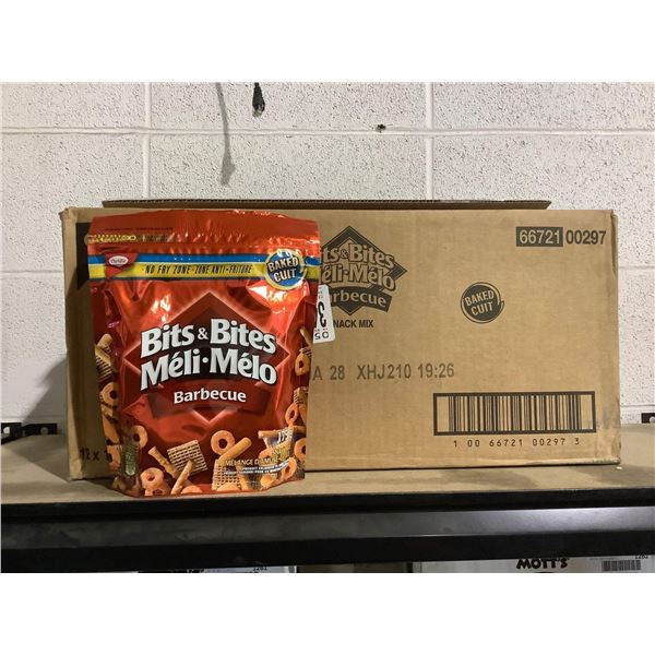 Case of Bits and Bites Barbecue Snack Mix (12 x 175g)