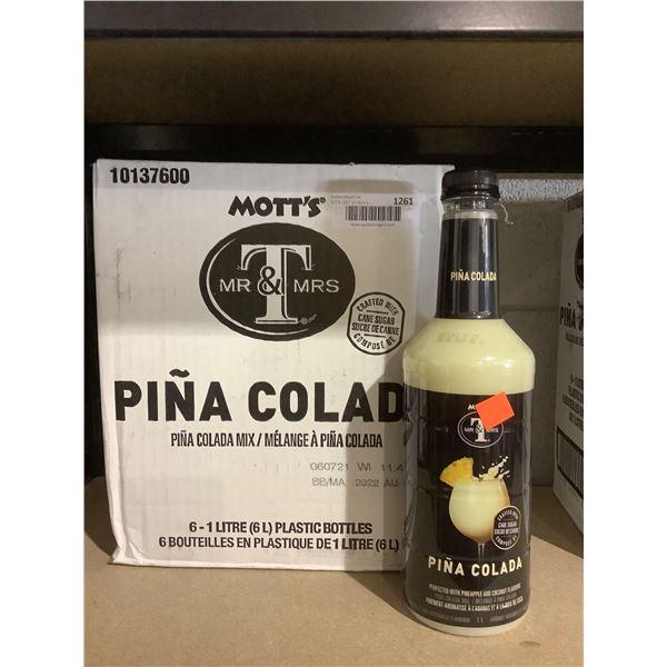 Case of Mott's Pina Colada Mix (6 x 1L)