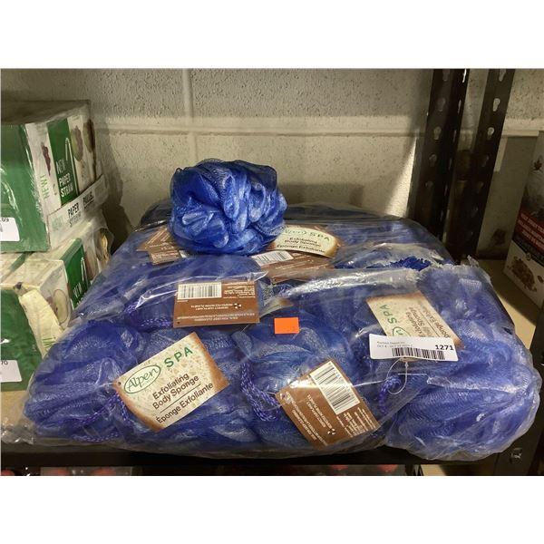 Bag of AlpenSecrets Spa Exfoliating Body Sponges