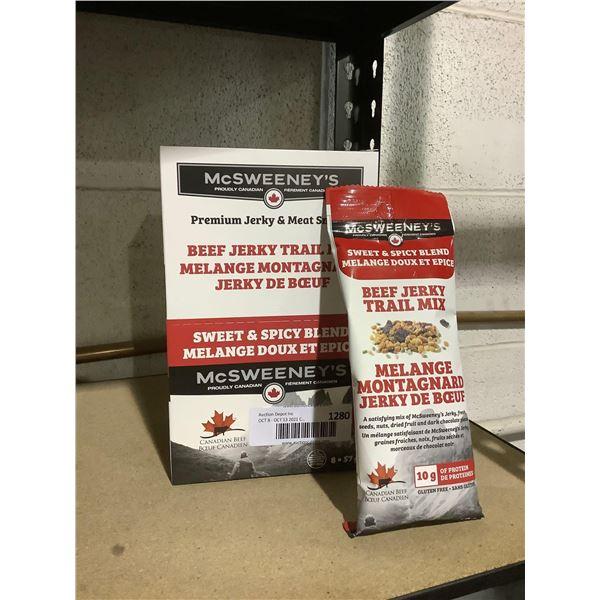 McSweeney's Premium Beef Jerky Trail Mix (8 x 57g)