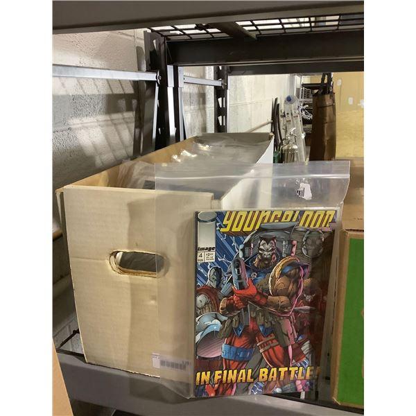 Case of Misc. Comic Books