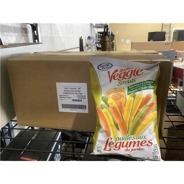Case of Sensible Portions Garden Veggie Straws (12 x 120g)