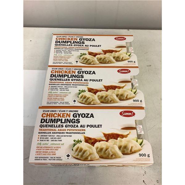 Summ Chicken Gyoza Dumplings 3 x 900g