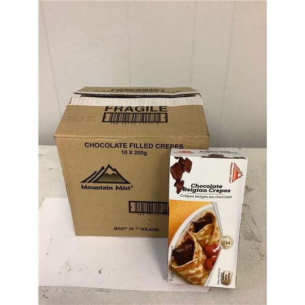 Chocolate Belgian Crepes Case lot of 10 x 200g