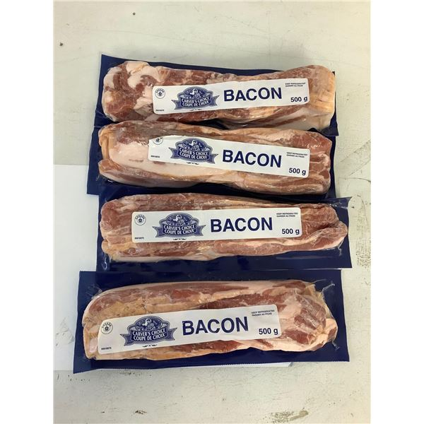 Carvers choice Thick Cut Bacon lot of 5 x 500g