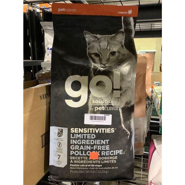 Pet Curean Sensitives Limited Ingredient Grain-Free Pollock Recipe Cat Food (3.63kg)