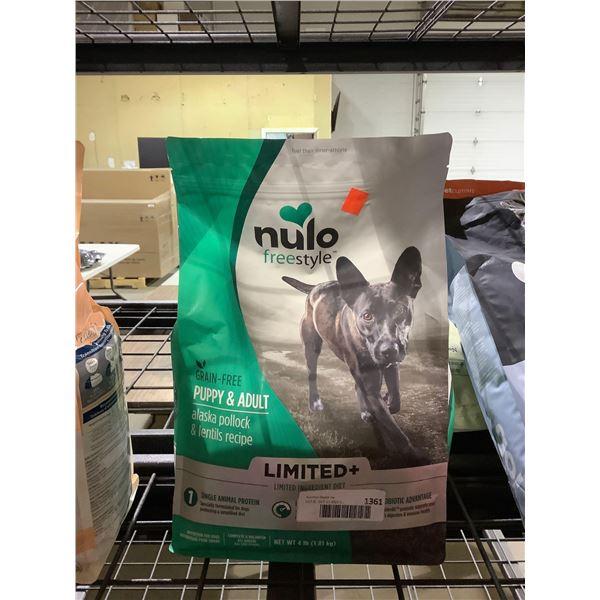 Nulo Freestyle Grain-Free Puppy & Adult Alaska Pollock & Lentils Recipe Dog Food (1.81kg)