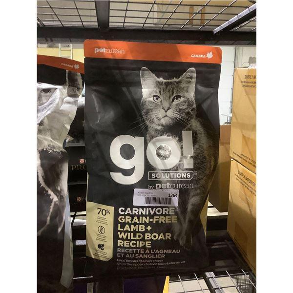 Pet Curean Grain-Free Lamb & Wild Boar Recipe Cat Food (1.4kg)