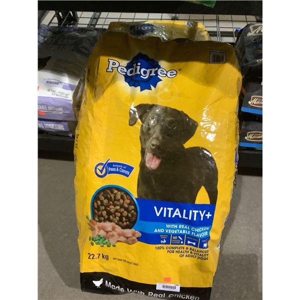 Pedigree Vitality Real Chicken and Vegetable Flavor Adult Dog Food (22.7kg)