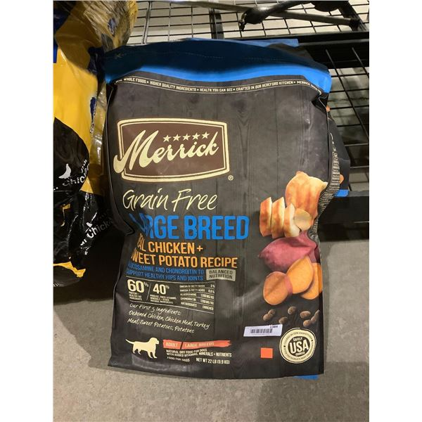 Merrick Grain Free Large Breed Real Chicken and Sweet Potato Recipe Adult Dog Food (9.9kg)