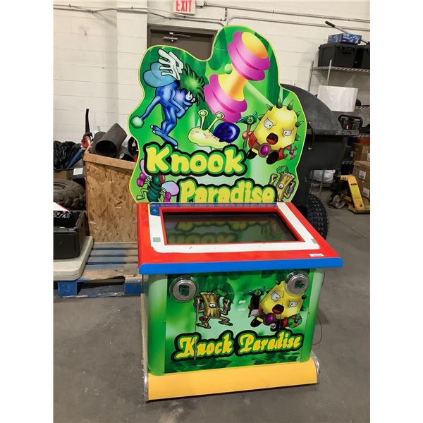 Knock Paradise Arcade Game (Untested, sold as is)