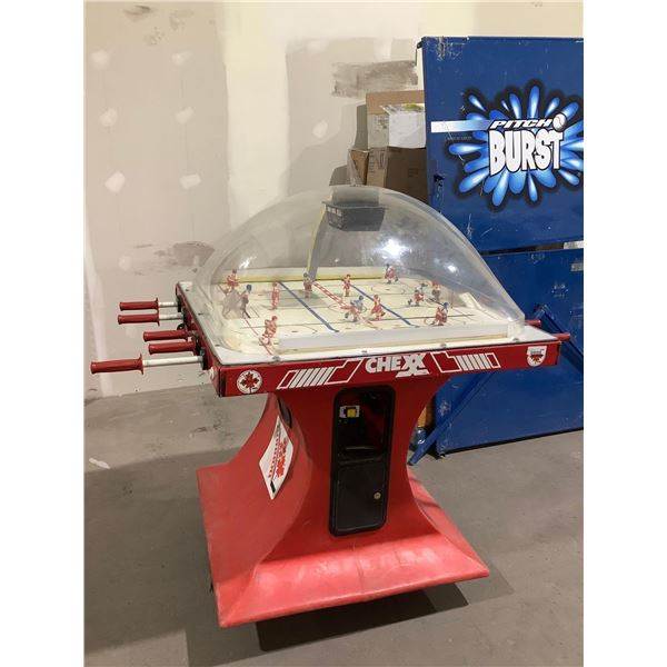 ChexxIce Hockey Arcade Game (Untested, sold as is)