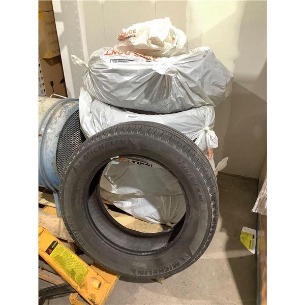 Michelin 235/60R18 Tires (No Rims) Lot of 5