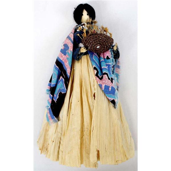 Native American Cherokee Corn Husk Doll