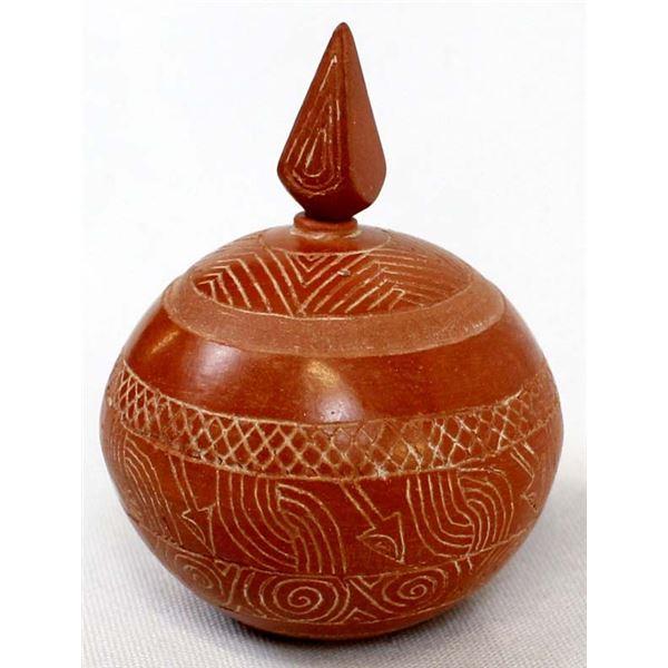 2009 Native American Pottery Perfume Bottle