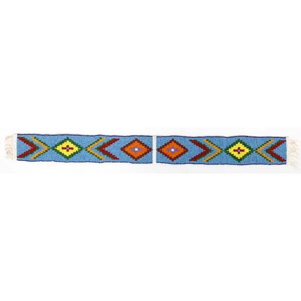 Native American Loom Beaded Shirt or Belt Decor