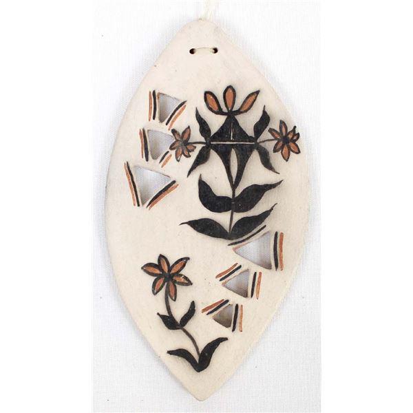 2003 Cochiti Pottery Ornament by Inez Ortiz