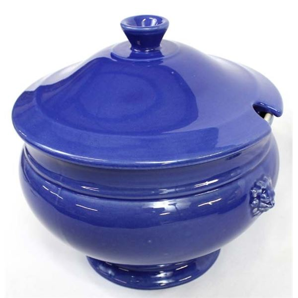 Vintage French Emile Henry Stoneware Tureen