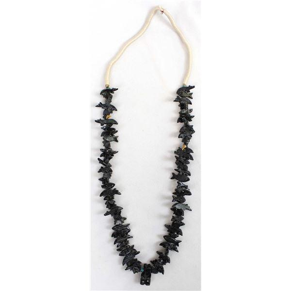 Stacked Multi-Stone Fetish Necklace