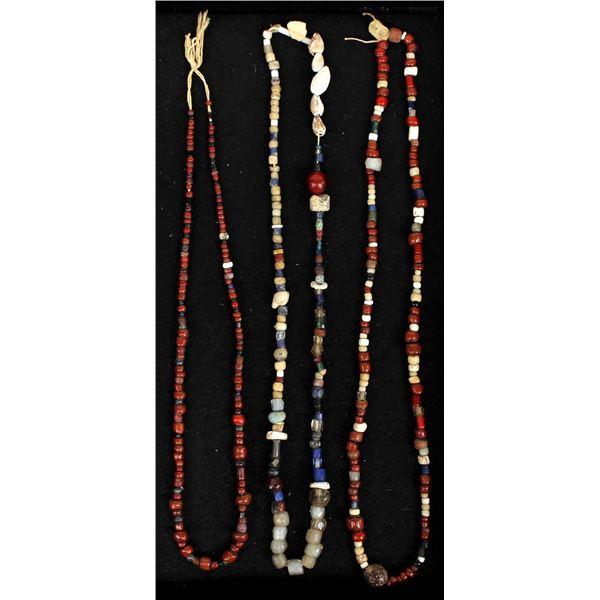 Antique Vintage Trade Bead Necklaces