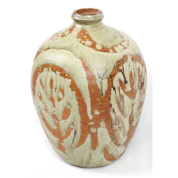 Contemporary Stoneware Pottery Vase