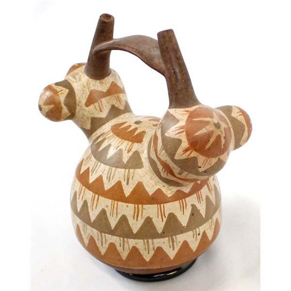 PreColumbian Stirrup Pottery Replica
