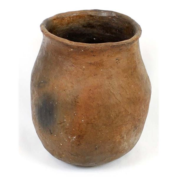 Historic Navajo Pottery Drum Jar