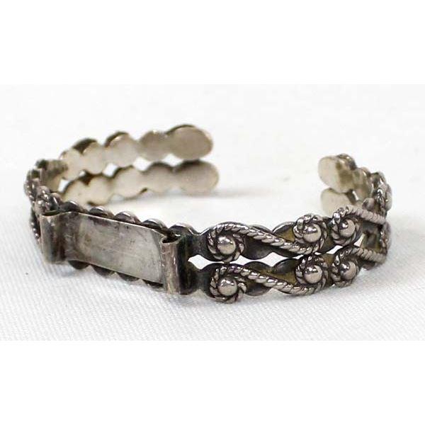 Navajo Sterling Silver Watch Bracelet