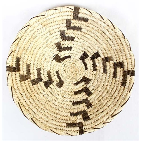 Tohono O'odham Wind Pattern Basket